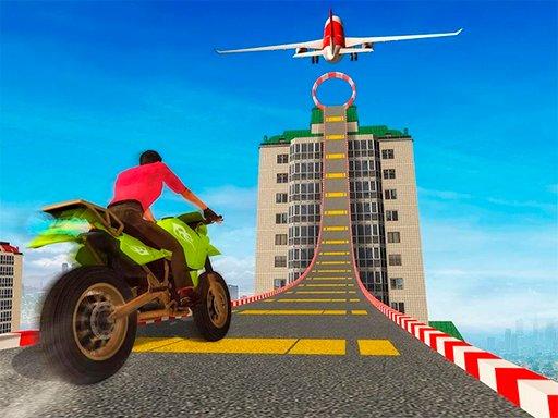 Sky Bike Stunt
