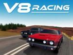 V8 Motorlu Araba Yarışı